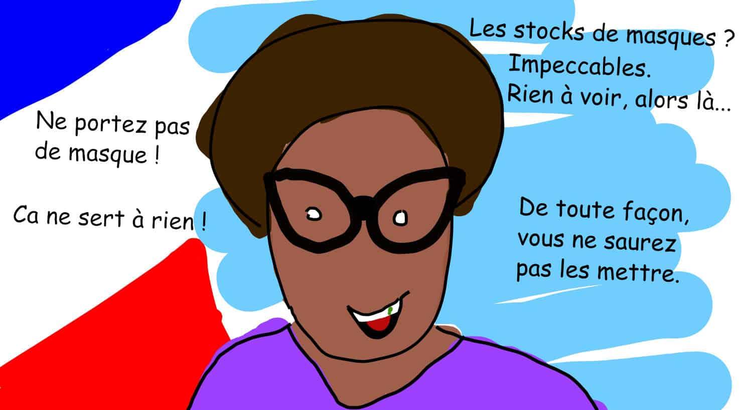 Comment réagir face au mensonge (Sibeth Ndiaye)