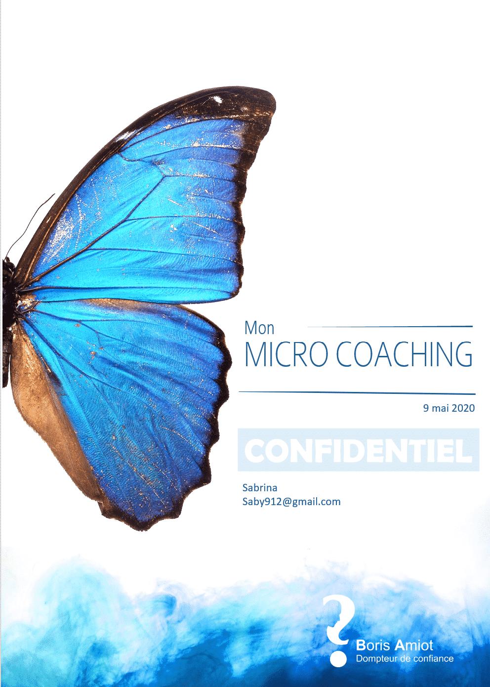 Commander votre Micro Coaching en développement personnel